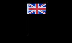 Drapeau en papier Royaume-Uni - 12 x 24 cm