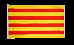 Drapeau de balcon Espagne Catalogne - 90 x 150 cm