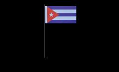 Drapeau en papier Cuba - 12 x 24 cm