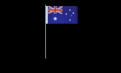 Drapeau en papier Australie - 12 x 24 cm