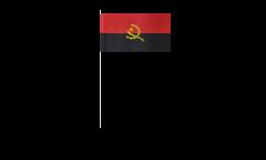 Drapeau en papier Angola - 12 x 24 cm