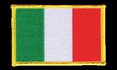 Écusson brodé Italie - 8 x 6 cm