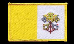 Écusson brodé Vatican - 8 x 6 cm