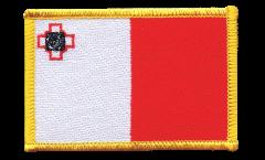 Écusson brodé Malte - 8 x 6 cm