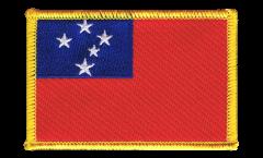 Écusson brodé Samoa - 8 x 6 cm