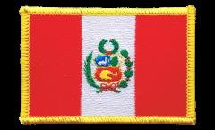 Écusson brodé Pérou - 8 x 6 cm
