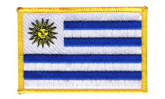 Écusson brodé Uruguay - 8 x 6 cm