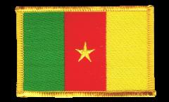 Écusson brodé Cameroun - 8 x 6 cm