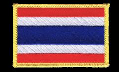 Écusson brodé Thaïlande - 8 x 6 cm