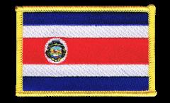 Écusson brodé Costa Rica - 8 x 6 cm