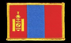 Écusson brodé Mongolie - 8 x 6 cm