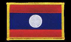 Écusson brodé Laos - 8 x 6 cm