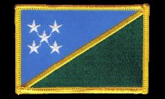 Écusson brodé Îles Salomon - 8 x 6 cm