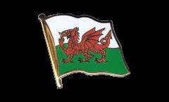 Pin's (épinglette) Drapeau Pays de Galles - 2 x 2 cm