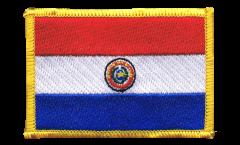 Écusson brodé Paraguay - 8 x 6 cm
