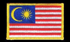 Écusson brodé Malaisie - 8 x 6 cm