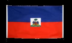 Drapeau de balcon Haïti - 90 x 150 cm