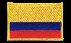 Écusson brodé Colombie - 8 x 6 cm
