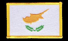 Écusson brodé Chypre - 8 x 6 cm