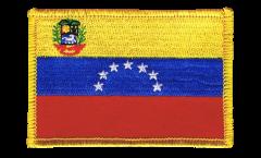 Écusson brodé Venezuela 7 Etoiles avec blason 1930-2006 - 8 x 6 cm