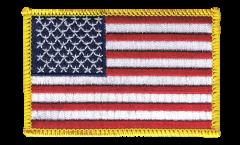 Écusson brodé USA Etats-Unis - 8 x 6 cm