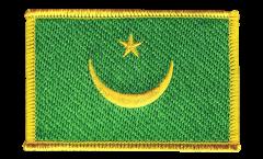 Écusson brodé Mauritanie 1959-2017 - 8 x 6 cm