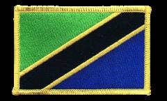 Écusson brodé Tanzanie - 8 x 6 cm