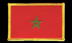 Écusson brodé Maroc - 8 x 6 cm