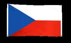 Drapeau de balcon République tchèque - 90 x 150 cm