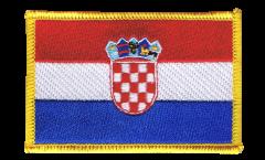 Écusson brodé Croatie - 8 x 6 cm