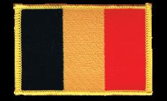 Écusson brodé Belgique - 8 x 6 cm
