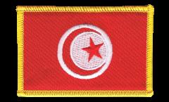 Écusson brodé Tunisie - 8 x 6 cm