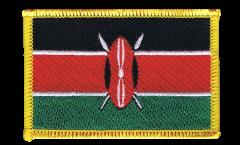 Écusson brodé Kenya - 8 x 6 cm
