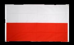 Drapeau de balcon Pologne - 90 x 150 cm