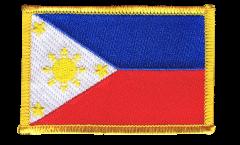 Écusson brodé Philippines - 8 x 6 cm