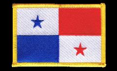 Écusson brodé Panama - 8 x 6 cm