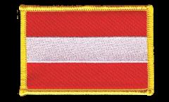 Écusson brodé Autriche - 8 x 6 cm