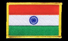 Écusson brodé Inde - 8 x 6 cm