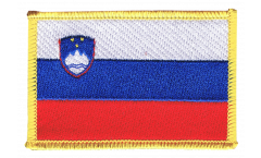 Écusson brodé Slovénie - 8 x 6 cm