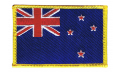 Écusson brodé Nouvelle Zélande - 8 x 6 cm