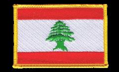 Écusson brodé Liban - 8 x 6 cm