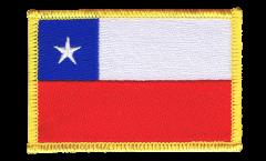 Écusson brodé Chili - 8 x 6 cm