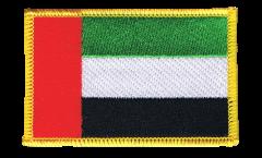 Écusson brodé Émirats Arabes Unis - 8 x 6 cm
