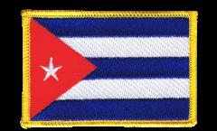 Écusson brodé Cuba - 8 x 6 cm
