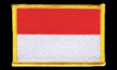 Écusson brodé Monaco - 8 x 6 cm