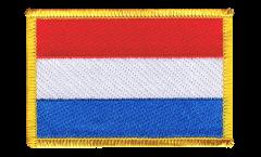 Écusson brodé Luxembourg - 8 x 6 cm