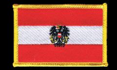 Écusson brodé Autriche avec aigle - 8 x 6 cm