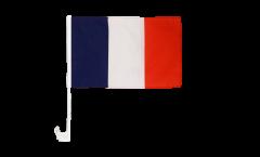 Drapeau de voiture France - 30 x 40 cm