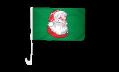 Drapeau de voiture Père Noël - 30 x 40 cm