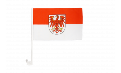 Drapeau de voiture Allemagne Brandebourg - 30 x 40 cm